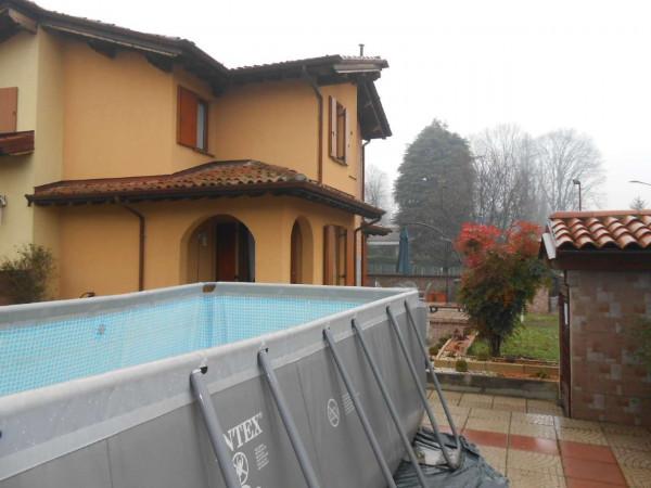 Villa in vendita a Monte Cremasco, Residenziale, Con giardino, 168 mq - Foto 50