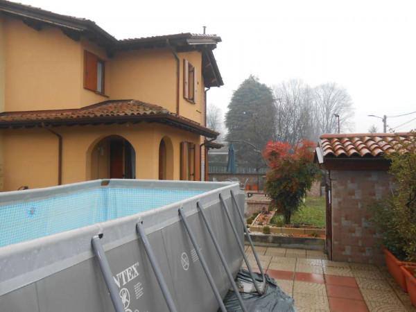 Villa in vendita a Monte Cremasco, Residenziale, Con giardino, 168 mq - Foto 53