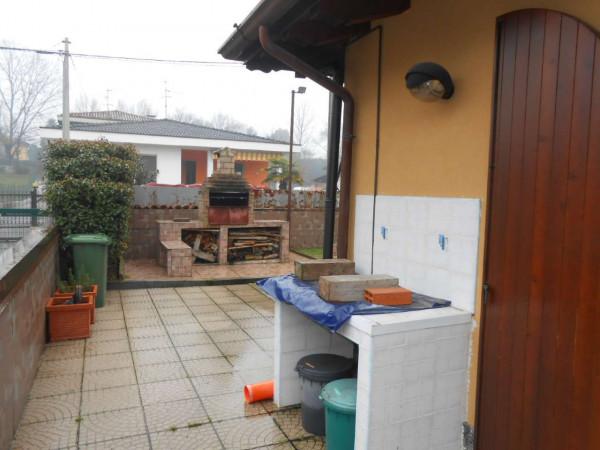 Villa in vendita a Monte Cremasco, Residenziale, Con giardino, 168 mq - Foto 46
