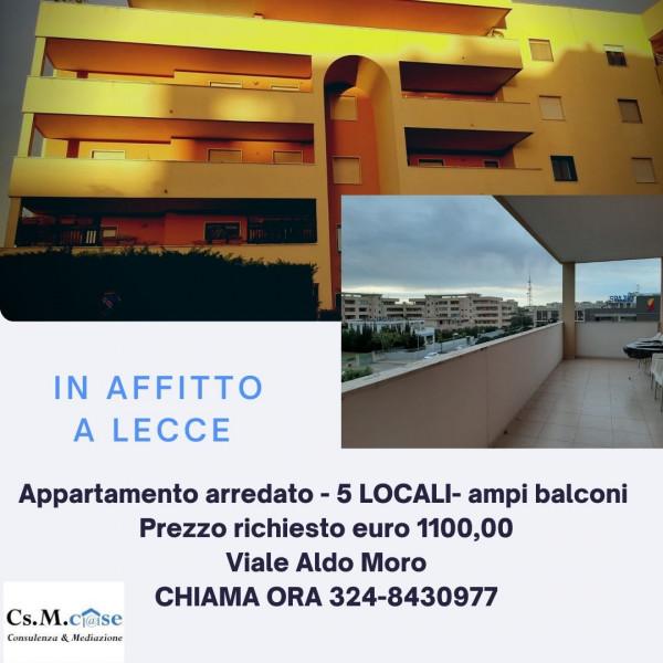 Appartamento in affitto a Lecce, Partigiani, 160 mq