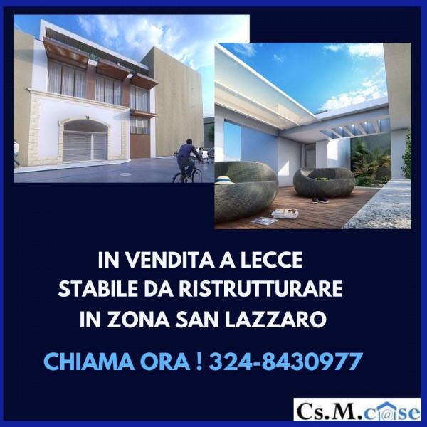 Appartamento in vendita a Lecce, San Lazzaro, Con giardino, 300 mq - Foto 1
