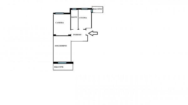 Appartamento in affitto a Milano, Gambara, Arredato, con giardino, 70 mq - Foto 3
