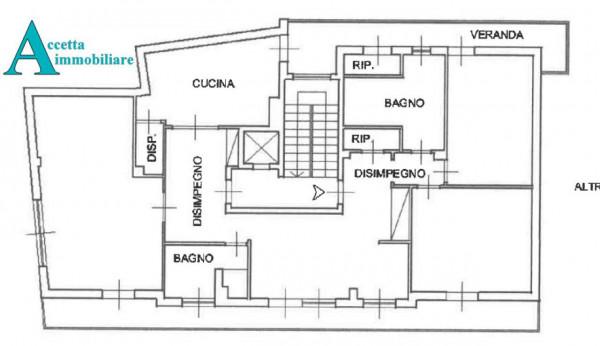 Appartamento in vendita a Taranto, Rione Italia, Montegranaro, 172 mq - Foto 2