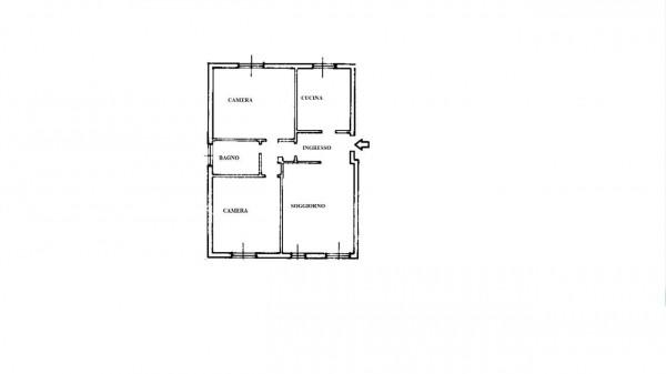 Appartamento in vendita a Lainate, Barbaiana, Con giardino, 80 mq - Foto 2
