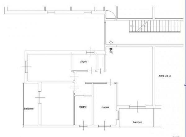 Appartamento in vendita a Roma, Torrino, Con giardino, 95 mq - Foto 2