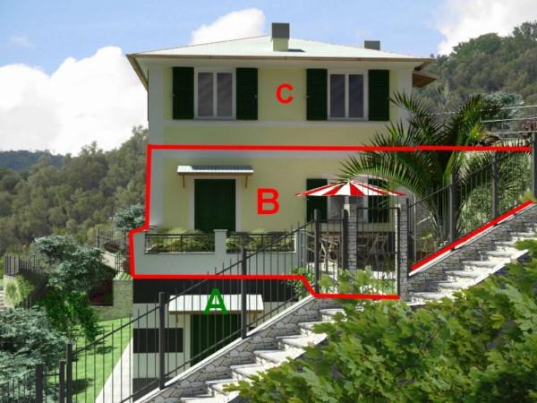 Appartamento in vendita a Rapallo, Ronco, Con giardino, 84 mq - Foto 15