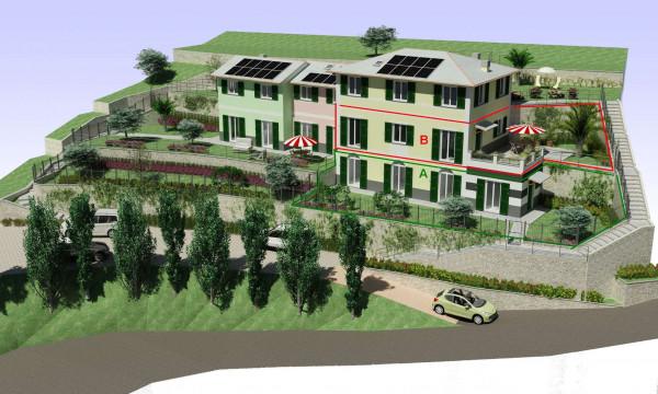 Appartamento in vendita a Rapallo, Ronco, Con giardino, 84 mq - Foto 22