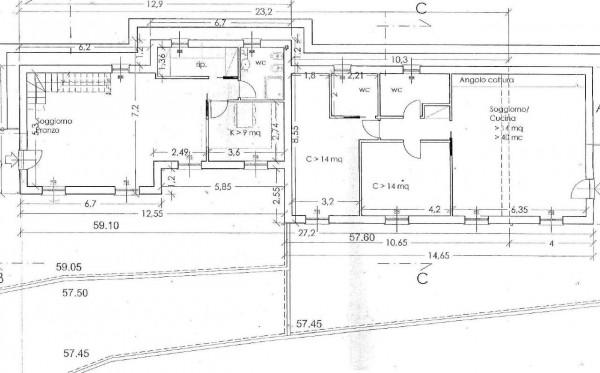 Appartamento in vendita a Rapallo, Ronco, Con giardino, 84 mq - Foto 2