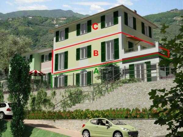 Appartamento in vendita a Rapallo, Ronco, Con giardino, 84 mq - Foto 25