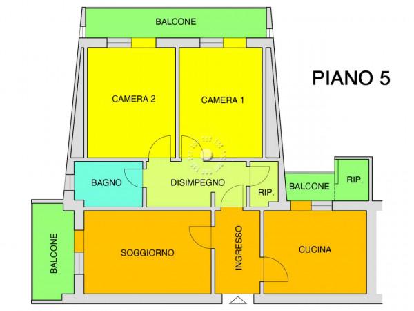 Appartamento in vendita a Firenze, Con giardino, 96 mq - Foto 2