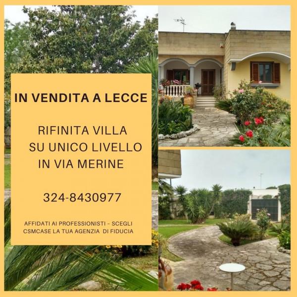 Villa in vendita a Lecce, Chiatante, Con giardino, 350 mq