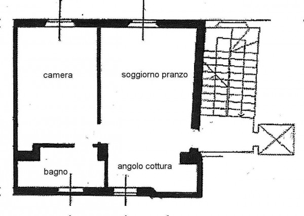 Appartamento in affitto a Milano, Duomo, Arredato, 45 mq - Foto 2