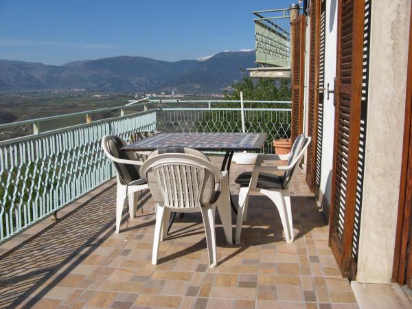 Villetta a schiera in vendita a Roccacasale, Centro, 80 mq - Foto 1