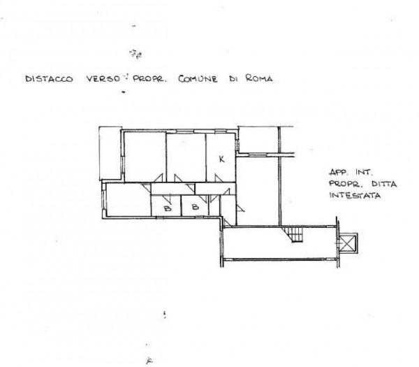 Appartamento in vendita a Roma, Torrino, Con giardino, 104 mq - Foto 2