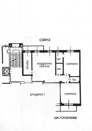 Appartamento in vendita a Milano, Lambrate, 120 mq - Foto 3