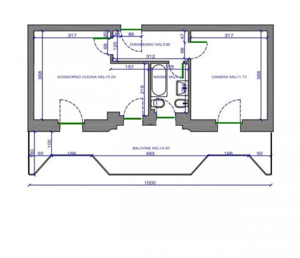 Appartamento in vendita a Santa Margherita Ligure, San Siro, 52 mq - Foto 8