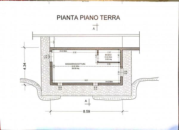 Villa in vendita a Levanto, Mesco, Con giardino, 100 mq - Foto 3