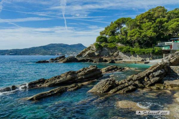 Villa in vendita a Zoagli, Cornice Di S.ambrogio, Con giardino, 150 mq - Foto 3
