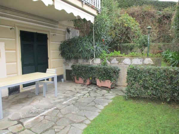 Appartamento in vendita a Santa Margherita Ligure, Arredato, con giardino, 115 mq - Foto 17