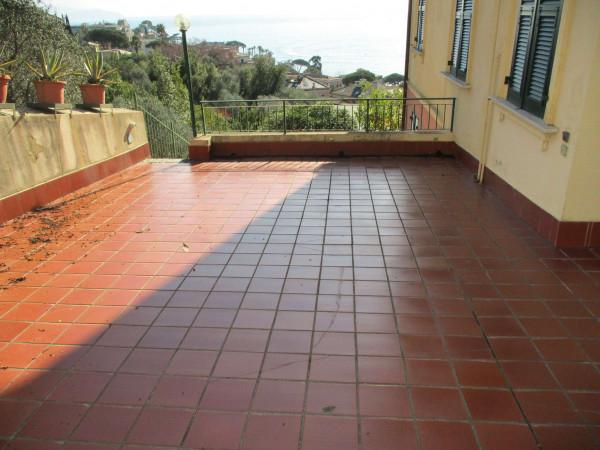 Appartamento in vendita a Santa Margherita Ligure, Arredato, con giardino, 110 mq - Foto 15