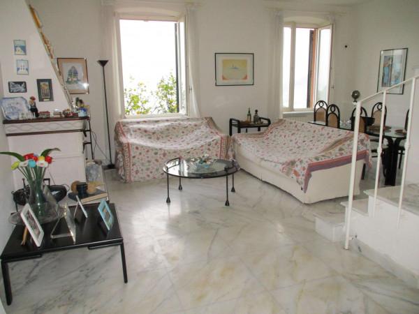 Appartamento in vendita a Santa Margherita Ligure, Arredato, con giardino, 110 mq - Foto 7