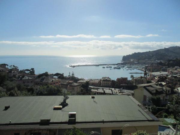 Appartamento in vendita a Santa Margherita Ligure, Arredato, con giardino, 110 mq