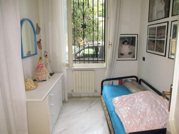 Appartamento in vendita a Santa Margherita Ligure, Arredato, con giardino, 110 mq - Foto 12