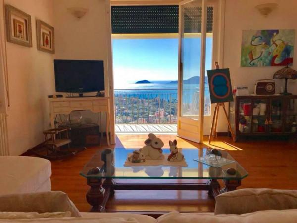Appartamento in vendita a Lerici, Semicentro, Con giardino, 125 mq - Foto 16