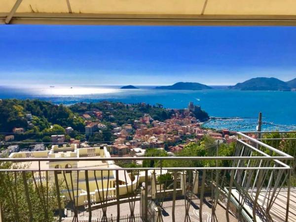 Appartamento in vendita a Lerici, Semicentro, Con giardino, 125 mq - Foto 2