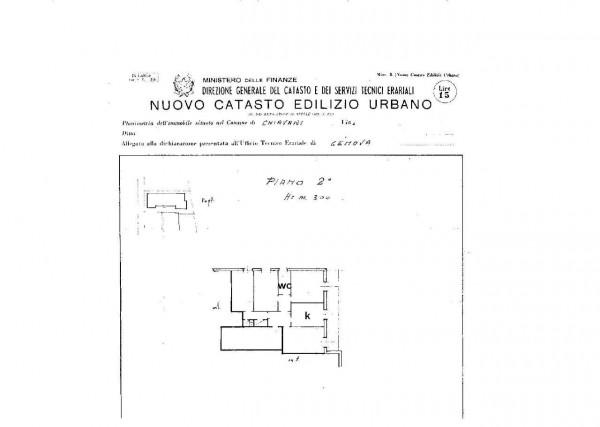 Appartamento in vendita a Chiavari, Centro, Arredato, 110 mq - Foto 2