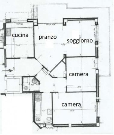 Appartamento in affitto a Caronno Pertusella, 100 mq - Foto 14