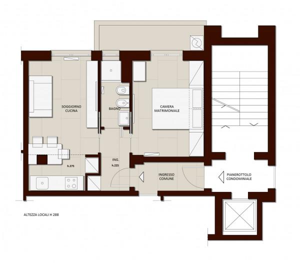 Appartamento in vendita a Milano, Vigentino, Con giardino, 45 mq - Foto 18