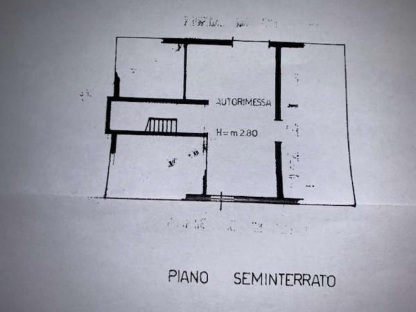 Villa in vendita a Garbagnate Milanese, Stazione, Con giardino, 400 mq - Foto 4