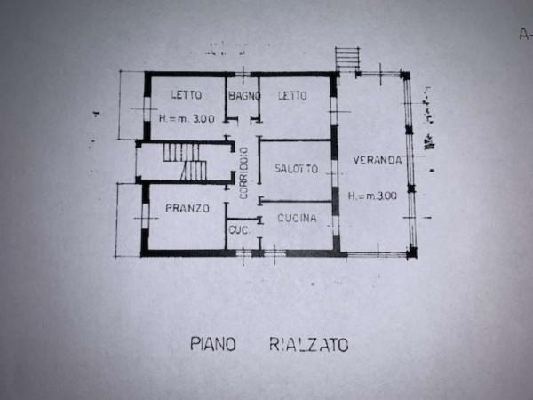 Villa in vendita a Garbagnate Milanese, Stazione, Con giardino, 400 mq - Foto 5