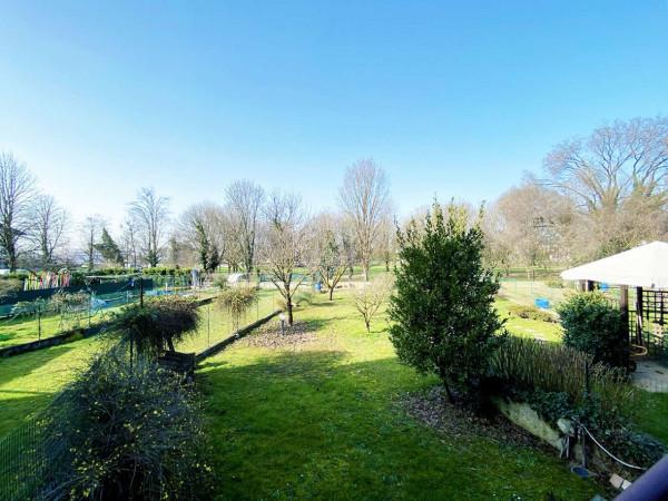 Villetta a schiera in vendita a Rodano, Con giardino, 160 mq - Foto 21