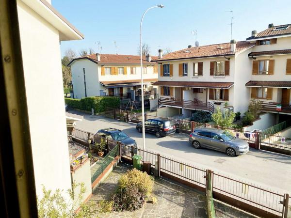 Villetta a schiera in vendita a Rodano, Con giardino, 160 mq - Foto 6