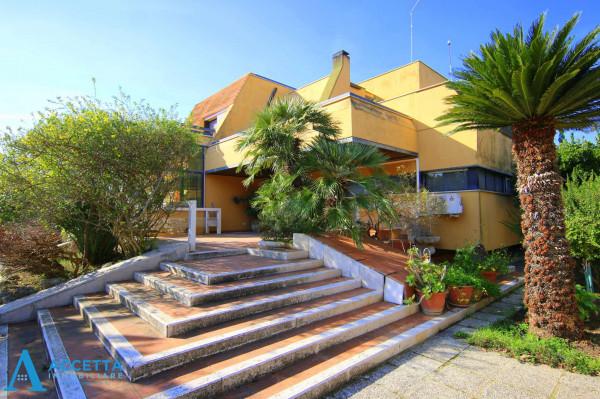 Villa in vendita a Taranto, Rione Laghi - Taranto 2, Con giardino, 446 mq - Foto 28