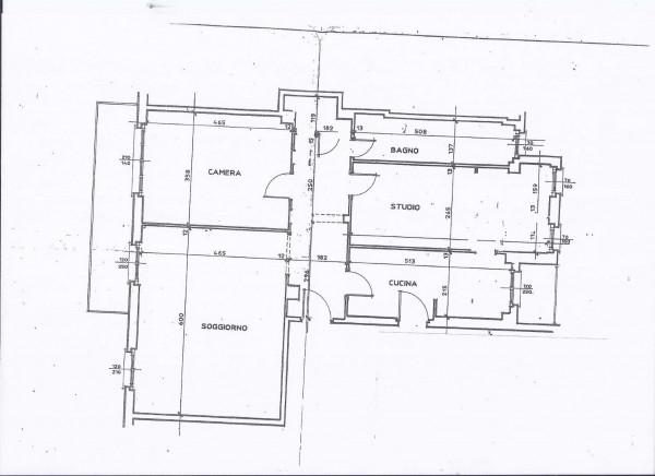 Appartamento in affitto a Milano, Navigli - Corso Genova - S. Ambrogio, Con giardino, 100 mq - Foto 3