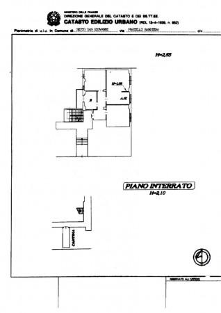 Appartamento in vendita a Sesto San Giovanni, Rondò, Con giardino, 100 mq - Foto 2