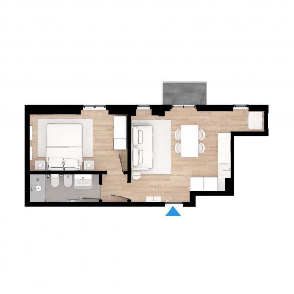 Appartamento in vendita a Milano, Porta Venezia, 50 mq - Foto 2
