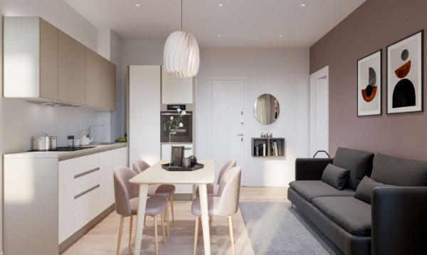 Appartamento in vendita a Milano, Porta Venezia, 50 mq