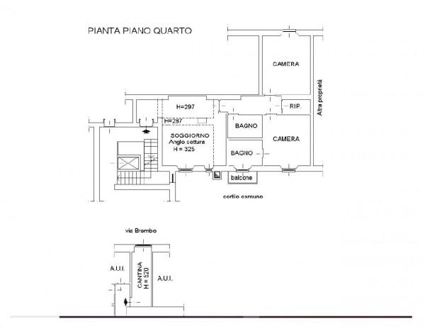 Appartamento in vendita a Milano, Lodi, 106 mq - Foto 2