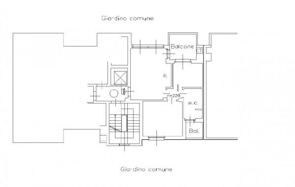Appartamento in vendita a Milano, Ripamonti, Con giardino, 61 mq - Foto 2