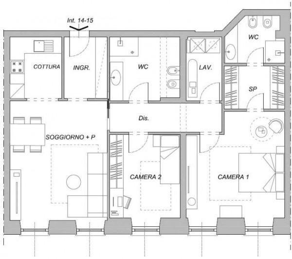 Appartamento in vendita a Chiavari, 105 mq - Foto 2