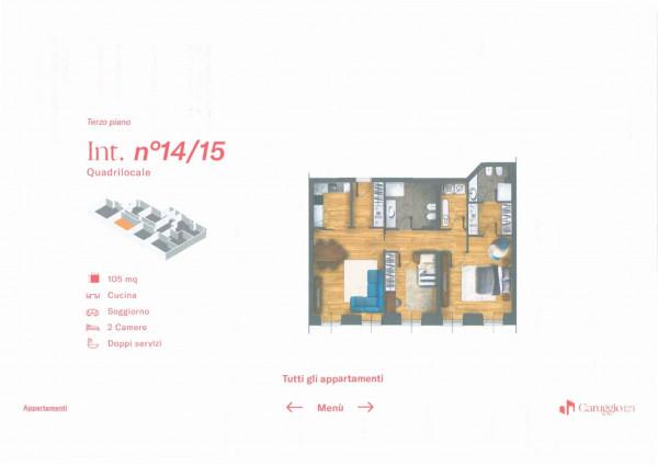 Appartamento in vendita a Chiavari, 105 mq - Foto 3