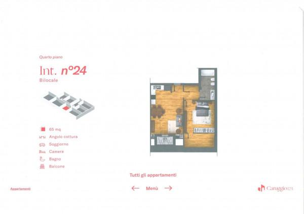 Appartamento in vendita a Chiavari, Centro Storico, 66 mq - Foto 3