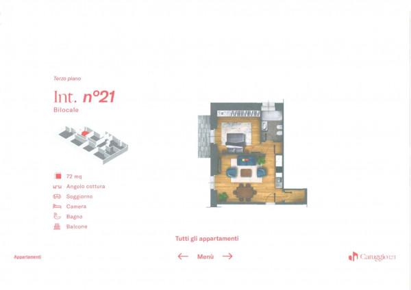 Appartamento in vendita a Chiavari, Centro Storico, 72 mq - Foto 3