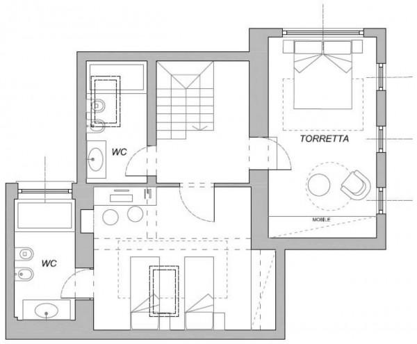 Appartamento in vendita a Chiavari, Centro Storico, 140 mq - Foto 3