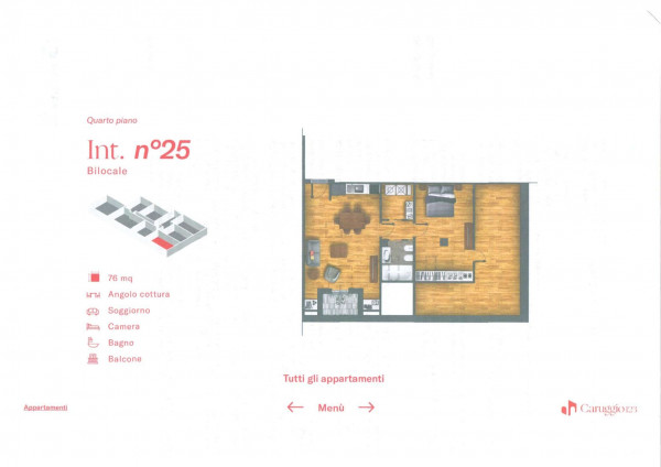 Appartamento in vendita a Chiavari, Centro Storico, 76 mq - Foto 3