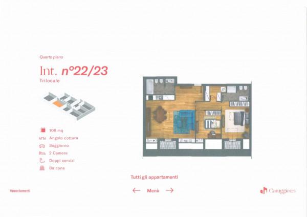 Appartamento in vendita a Chiavari, Centro Storico, 108 mq - Foto 3